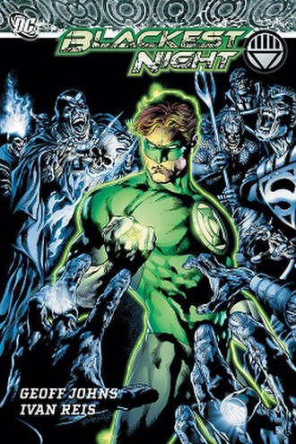 Blackest Night - Absolute Edition 's cover. Art by Ivan Reis.