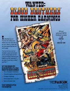 <i>Blood Bros.</i> 1990 arcade game