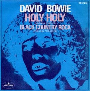 Holy Holy - Image: Bowieholy