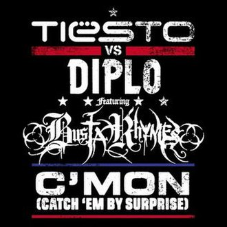 TiГ«sto vs. Diplo featuring Busta Rhymes — C'mon (Catch 'Em by Surprise) (studio acapella)