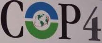 1998 United Nations Climate Change Conference - Image: COP4 Logo