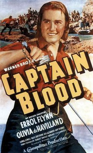Jack Dyer - Errol Flynn as the swashbuckling Captain Blood