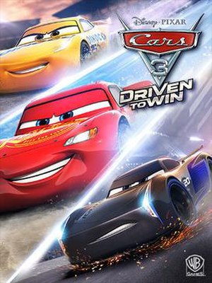 Cars 3: Driven to Win - Cover