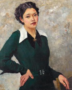 Chien-Ying Chang - Self-portrait (1936)