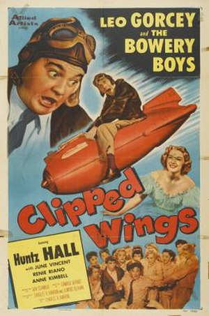 Clipped Wings (1953 film) - Film poster