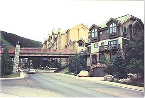 Beaver Creek Resort - View at the Beaver Creek Village.