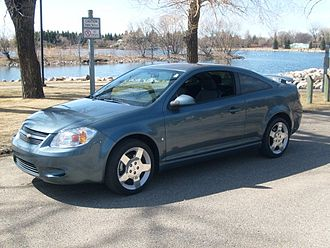 Chevrolet Cobalt SS - A blue granite SS 2.4 L naturally aspirated coupe