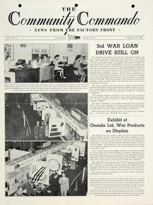 Oneida Limited - Oneida was a major WW2 manufacturer.