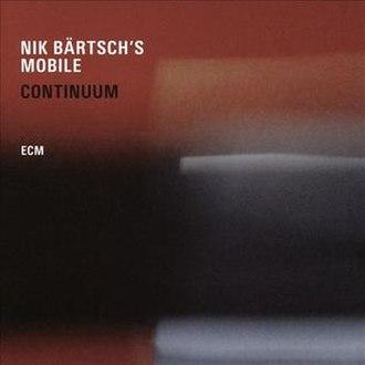 Continuum (Nik Bärtsch album) - Image: Continuum (Nik Bärtsch album)
