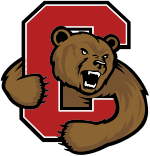 Cornell Big Red women's ice hockey athletic logo