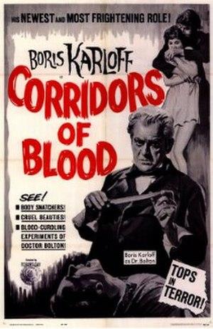 Corridors of Blood - Corridors of Blood film poster