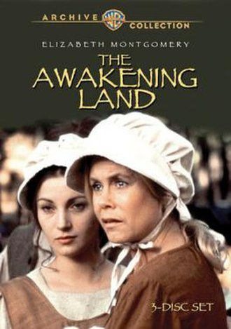 The Awakening Land - Image: DVD cover of the movie The Awakening Land