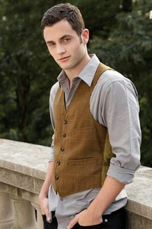 Dan Humphrey - Penn Badgley as Daniel Humphrey