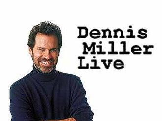 Dennis Miller Live - Image: Dennis Miller Live logo