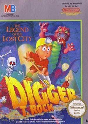 Digger T. Rock - North American cover art