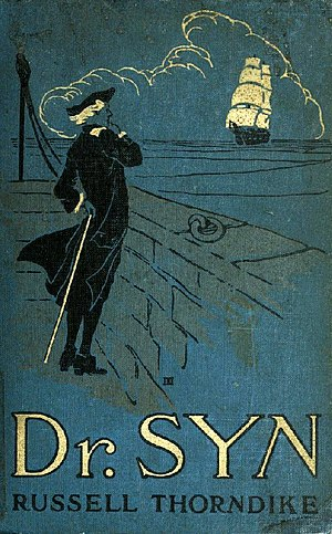 Smuggling in fiction - Cover of the 1915 edition of Doctor Syn: A Smuggler Tale of the Romney Marsh