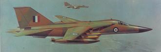 General Dynamics F-111K - Artist's impression of F-111K