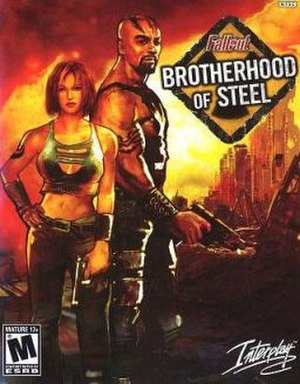 Fallout: Brotherhood of Steel - North American Xbox cover