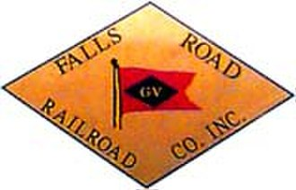 Falls Road Railroad - Image: Falls Road Railroad (emblem)