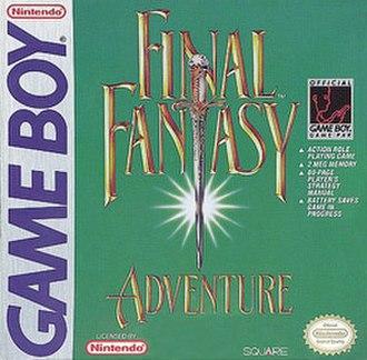 Final Fantasy Adventure - North American cover art