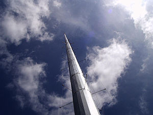 Folded unipole antenna - Modern folded unipole antenna