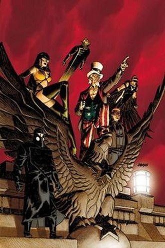Freedom Fighters (comics) - Image: Freedom Fighters (DC Comics superhero team)