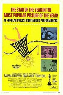 <i>Funny Girl</i> (film) 1968 film by William Wyler