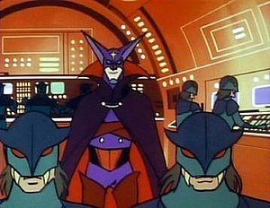 G-Force: Guardians of Space - Galactor and his army of soldiers.
