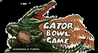 1978 Gator Bowl - Image: Gator Bowl Logo 1978 1985