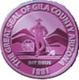 Gila County, Arizona - Image: Gila County az seal