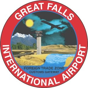 Great Falls International Airport - Image: Great Falls International Airport Logo