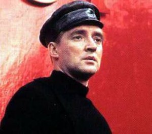 Guy Montag - Oskar Werner as Guy Montag, from the 1966 film adaption