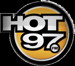 WQHT - Image: HOT97 WQHT logo