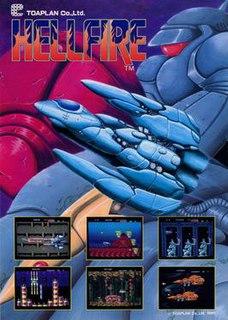 <i>Hellfire</i> (video game) 1989 arcade video game