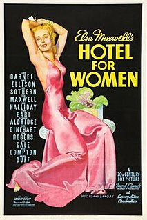 <i>Hotel for Women</i> 1939 film by Gregory Ratoff