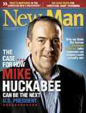 New Man (Christian magazine) - July/August 2007 cover of New Man endorsing Mike Huckabee