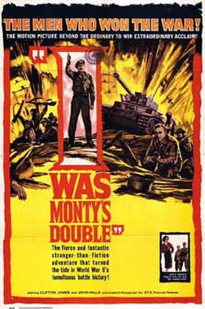 I Was Monty's Double (film) - Film poster