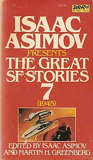 <i>Isaac Asimov Presents The Great SF Stories 7</i> (1945) book by Fredric Brown