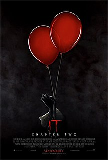 <i>It Chapter Two</i> 2019 epic supernatural horror film by Stephen King