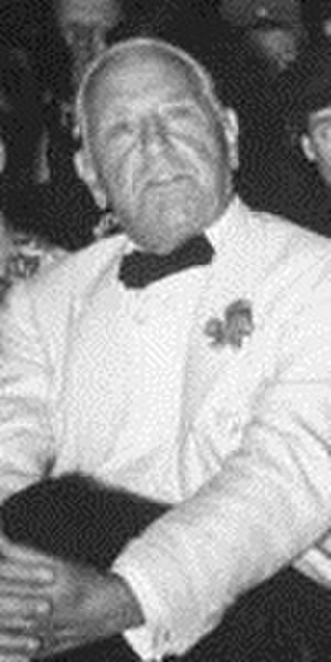 John Cavanagh (hatter) - John Cavanagh at the 1939 Neiman Marcus Fashion Awards ceremony.