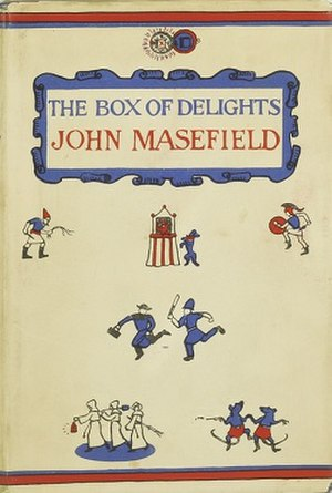The Box of Delights - First edition cover