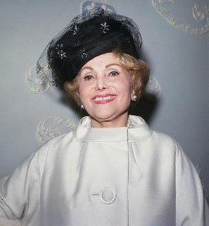 Jolie Gabor Hungarian-American socialite, entrepreneur, memoirist; mother of the Gabor sisters