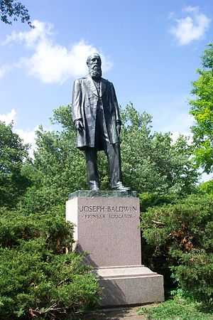 Truman State University - Joseph Baldwin statue on the Truman State University campus