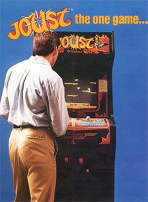 Joust (video game) - Image: Joust Flyer
