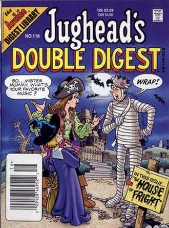 Jughead's Double Digest - Image: Jugheadsdoubledigest magazine 116nov 2005