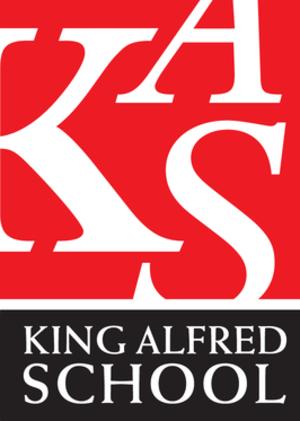 The King Alfred School, Highbridge - Image: King Alfred School logo
