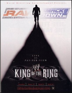 King of the Ring (2002) 2002 World Wrestling Entertainment pay-per-view event