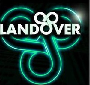 Landover Mall - The logo to the former mall, which was displayed on the mall entrance signs outside of MD 202 and Interstates 95 and 495