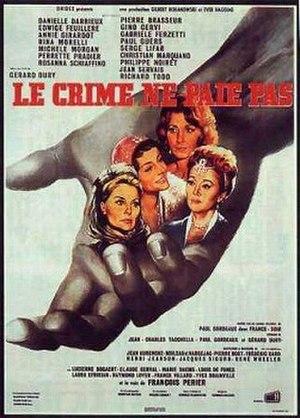 Le Crime ne paie pas - Image: Le Crime ne paie pas