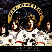 Led Zeppelin dressed as astronauts
